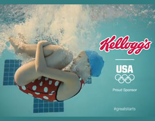 Kellogg's 'Swimmer' best in Olympic ad competition
