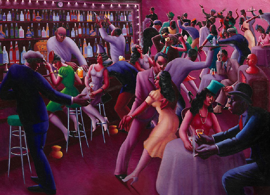 """Nightlife"" (A.J Motley / 1943)"