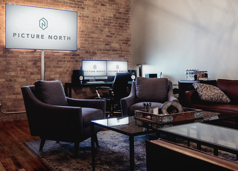 Editing suite at Picture North Chicago
