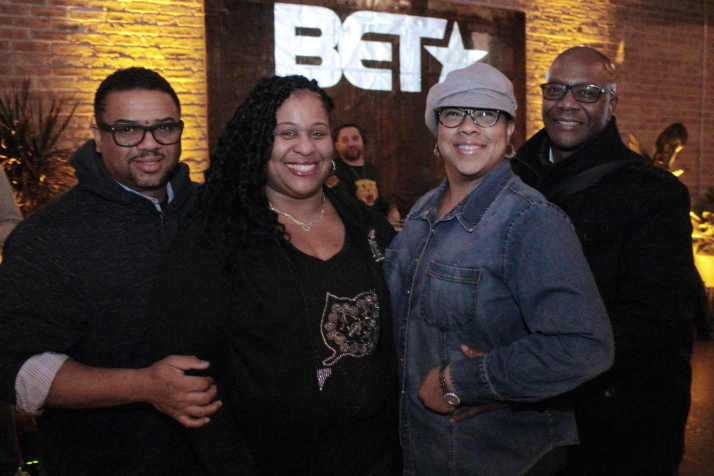 "Fans enjoy the ""American Soul"" pre-screening event at Morgan Manufacturing"